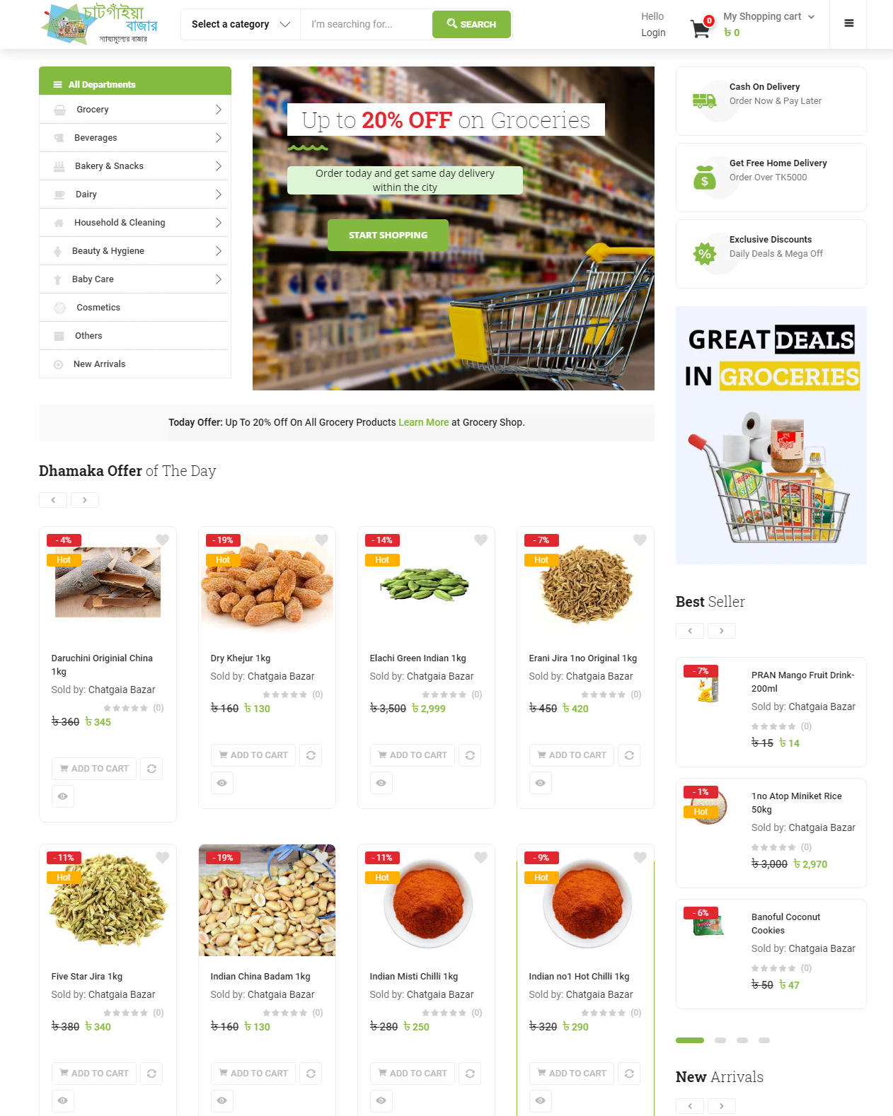 Online Grocery Shopping in Chattogram With Home Delivery - Chatgaia Bazar (2)